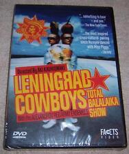 Leningrad Cowboys - Total Balalaika Show DVD NEW SEALED Alexandrov Red Army
