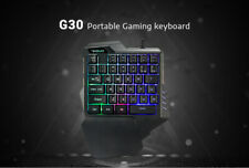 New listing Led Backlight 35 Keys One-handed Keyboard Wired Gaming Keypad For Pubg Lol Ow