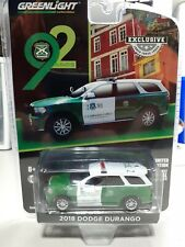 GreenLight Exclusive Police Dodge Durango Comisaria Curico Carabinero de Chile