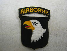 Ww2 American 101st Airborne Screaming Eagles Shoulder Arm Patch US Insignia