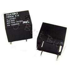 20 TRKM S-Z L 12VDC DC12V UTV6 7A 120VAC Coil SPDT PCB 5 Pin Power Relay TINABO