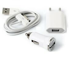 CHARGEUR CABLE ADAPTATEUR VOITURE POUR IPHONE 3G 3GS 4 IPOD
