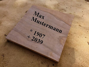 Liegeplatte Grab Liegestein Urnenstein Sandstein Steinplatte Grabplatte 50/50/4