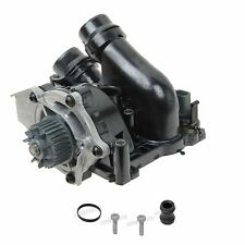 Water Pump & Thermostat w/ Gasket Pump Screw Coolant Pipe & Seal OE Supplier