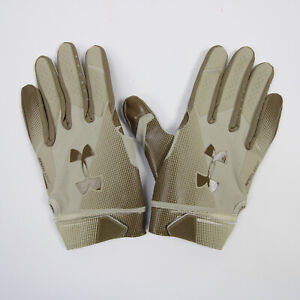 Houston Texans Under Armour  Gloves - Receiver Men's Tan/Brown New with Tags