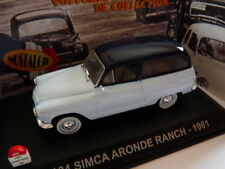 voiture UNIVERSAL HOBBIES NOSTALGIE 1/43 : SIMCA aronde Ranch break 1961