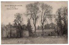 CPA 35 - SAINT BRICE EN COGLES (Ille et Vilaine) - Château de la Motte