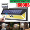 180COB LED 1200LM Remote control Solar Wall Lamp Outdoor Light Motion Sensor