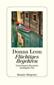 Donna Leon - Flüchtiges Begehren (Gebunden,2021)