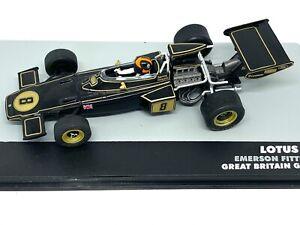 1:43 Scale Lotus 72D F1 Diecast Model - Emerson Fittipaldi 1972 Grand Prix Car