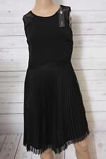 Esprit Collection Damen Kleid schwarz Gr. 32/xxs