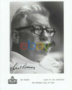 Art Rooney Sr. signed 8x10 autographed photo - Pittsburgh Steelers owner reprint