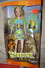 Disney Barbie Loves Shrek Doll 2004 Special Edition Princess Fiona Character
