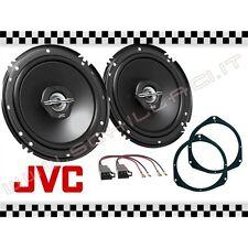 Coppia casse JVC + supporti FIAT PUNTO EVO 2 VIE portiere 16,5cm altoparlanti