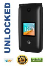 New Alcatel Cingular Flip 2 Ot-4044O At&T Unlocked 4G lte WiFi Basic Cell Phone