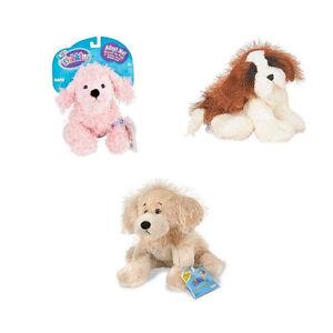 Webkinz - 3 x Dogs Plush Set - Pink Poodle St Bernard Golden Retriever NEW