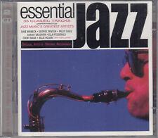 Essential jazz : Dave Brubeck, George Benson, Miles Davis etc 2CD 35 Tracks