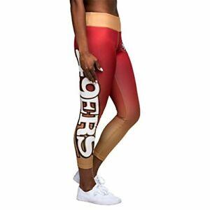 Forever Collectibles NFL Women's San Francisco 49ers Gradient Leggings