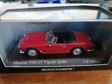 Minichamps 1/43 Maserati 3500 GT Vignale Spider 1961 red
