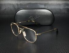 RayBan RX3648V 2500 GOLD DEMO LENS 54 mm Unisex Eyeglasses