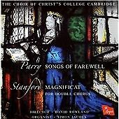 Parry: Songs of Farewell; Stanford: Magnificat (2004) Christ's College Choir NEW
