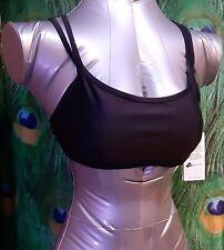 Nwt Sporti, Lycra Xtra Life Women's  Sz L Workout Bikini Top, Black. C-3
