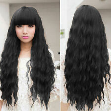 Women Girl Fashion Long Wavy Curly Hair Cosplay Costume Party Full Wigs #V6