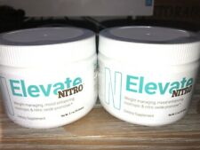 LOT OF 2 EVALICITY ELEVATE NITRO INFUSED SMART COFFEE 60 DAY SUPPLY NEW SEALED