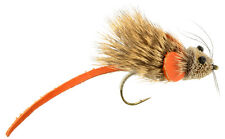 Fly Fishing Flies (Bass, Pike, Walleye, Trout, Muskie) Mini Mouse Fly (6 flies)