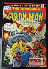 Invincible Iron Man #64 (5.5) FN-    ROKK / Doctor Spectrum!