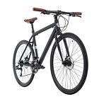 Fitness Bike 28'' Cityrad Velocity schwarz Alu-Rahmen Scheibenbremsen M147C