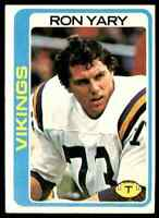 1978 Topps #430 Ron Yary HOF NRMT Minnesota Vikings / USC Trojans