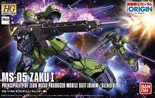 Mobile Suit Gundam THE ORIGIN Zaku I (Denim / Slender Machine) 1/144 Scale