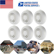 US 6pcs CO &Smoke Detector  Combination Smoke & Carbon Monoxide Alarm for Home
