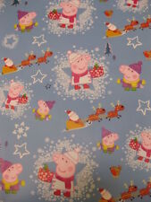 Christmas Peppa Pig Wrapping Paper