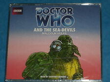 Doctor Who 'AND THE SEA-DEVILS'  BBC Audio CD Read By Geoffrey Beevers (3rd Doct