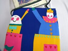 "Laura Ashley JACK IN THE BOX Rod Pocket Draperies Childrens Room 82""x 84"" NEW"