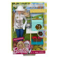 Barbie Careers BEEKEEPER BARBIE BLONDE w/ BEEHIVE PLAYSET NEW RELEASE NEW