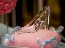Cinderella WEDDING Glass Slipper Shoe Princess Party Plastic 6 inch CAKE TOPPER