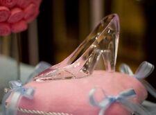 Cinderella WEDDING Glass Slipper Shoe Princess Party Plastic 6 inch CAKE TOPPER