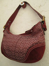 Auth  réf: n° C04J-6351 beau  sac à main  COACH BEG   vintage bag /