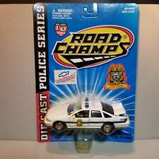 ROAD CHAMPS (43037) MONTPELIER OHIO POLICE 1:43 SCALE DIECAST METAL PATROL CAR