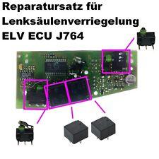 ✔Reparatur Set ELV 2 Schalter + 2 Relais 3C0905861 VW Passat B6 3C CC Repair Kit