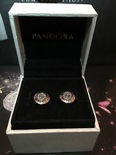 ORIGINALE Pandora Pave Orecchini a Perno Argento #290559CZ RRP £ 55