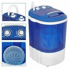 9lbs Capacity Portable Semi-Automatic Mini Laundry Washing Machine