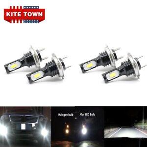 4x  H7 Headlight High Low Beam LED Bulbs For Hyundai Tucson 2016 2017 2018