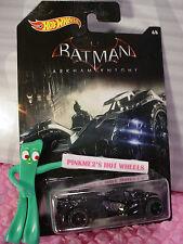 2015 Hot Wheels #6 BATMAN: ARKHAM KNIGHT BATMOBILE ✰midnight blue✰Walmart ✰1:64