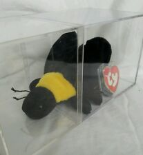 1993 Retired TY Bumble The Bee (KOREAN TAGS) Beanie Baby #4045 3rd 1st Gen