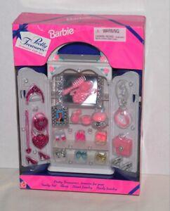 Pretty Treasures Armoire gift set Barbie furniture & Accessories HTF 1997 NRFB