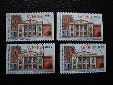 SUEDE - timbre yvert et tellier n° 2024 x4 obl (A29) stamp sweden (U)